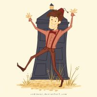 The Eleventh Doctor by CodiBear