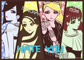 HATE YOU- 2NE1 by sakuyasworld
