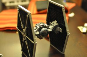 LEGO TIE Fighter by blah1102