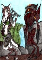 Virianix and Reaper by Specter1099
