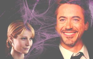 Tony and Pepper Pink by BlueRose177