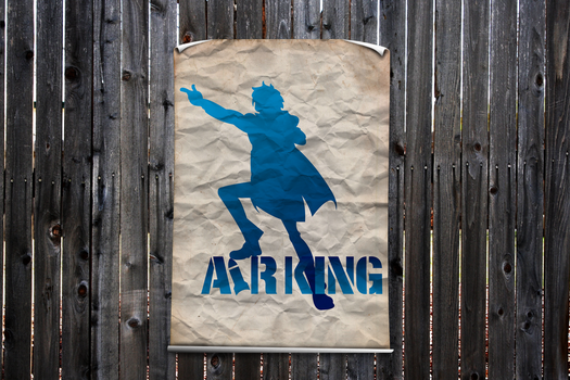 Poster Airking by juanfrbarros