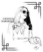 Chateau Marmont by MarrowMelow