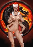 Snow Maiden Sheeva (Mortal Kombat) by Machay