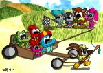 Lets go Karting by JimmyCartoonist