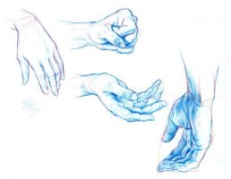 Hands Are Hard to Draw by AbdonJRomero