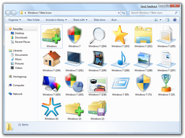 Hi-Res Icons - Windows 7 Beta by taimurasad