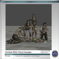 Zombies RE6 Chinese Female by Adngel