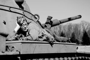 H-Dub and the Tank 1 by Hertz18360