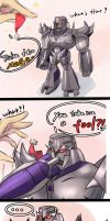 Megatron  and his hat by windy-lie