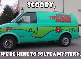 Mystery Machine by weblore