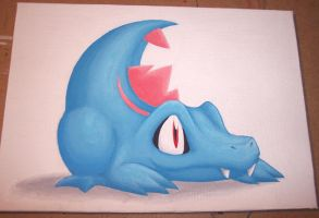 Choose Your Starter: Totodile by Zenity