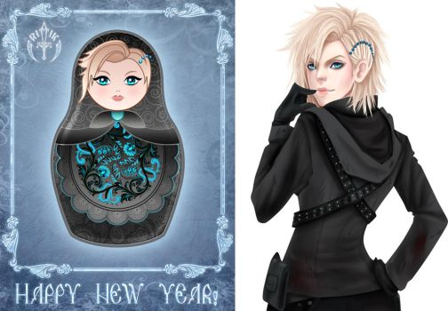 New Year project - 2 by Rittik-Designs