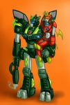 Macha MaXed and Mecha Doxxan by MaXedCats