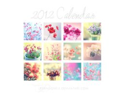 2012 Flower Calendar by ivadesign