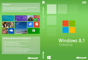Windows 8.1 Enterprise Cover (Unofficial) by joostiphone