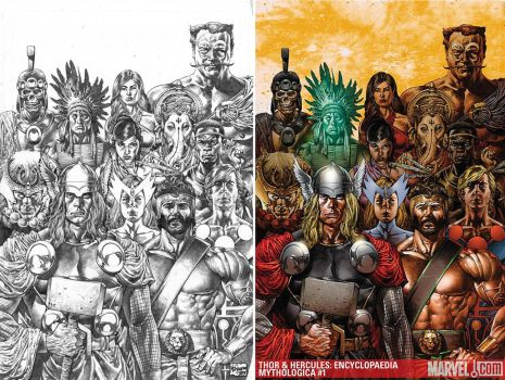 Thor and Hercules Encyclopedia by MicoSuayan