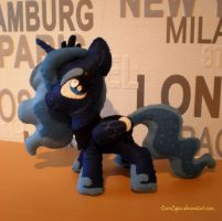 Season 2 Luna plush by CaveLupa