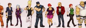 line up by samuraiblack