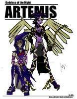 Artemis by chinaguy16