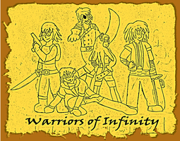 The Warriors of Infinity by SuperAshBro