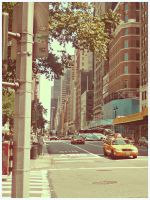 NYC avenue by SeiMissTake