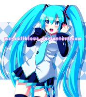 Miku by Rainbowshi