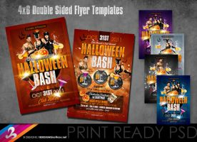 Halloween Bash Flyer Templates by AnotherBcreation