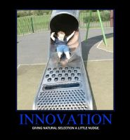 Innovation Demotivator by Grimful