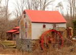 Old Mill of Guilford by bluemangoimages