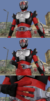 MMD Comic 2-Pack - Ryuki and Knight Survive Mode by Zeltrax987