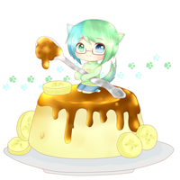 =Coby and his Pudding= by Rololi