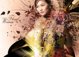 Floral Women by psdholic