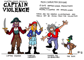 Captain Violence (2015) by VGRetro