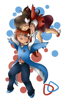 Brother and Sister by Raiyna