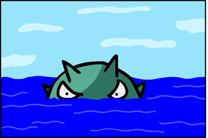 Qwilfish dex number 211 ping by AnimatedGamer