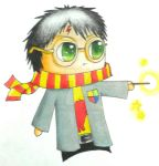 harry potter - chibi by 7anime7drawer7