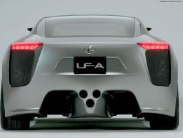 Lexus LF-A 01 by FreeWallpapers