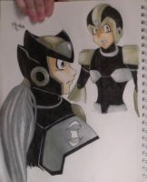 Gold and Black Suits by Grim-Heaper