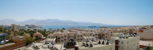 Eilat panorama 2 by omeriko