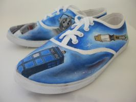 Dr Who shoes by LinMac