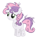 Sweetie Belle vector by treez123