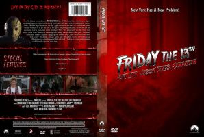 Friday the 13th Pt. 8 Custom DVD Cover by SUPERMAN3D