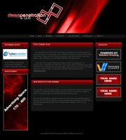 Deep Penetration Website by atomiccc