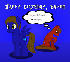 Birthday Present for davidvkimball by TheNittles