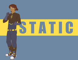 Static Shock- Static by Cherrie-Keane