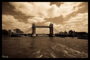 London... tower bridge by Halucinogenic
