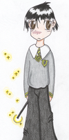 First Year Snape by melodythelittlepony