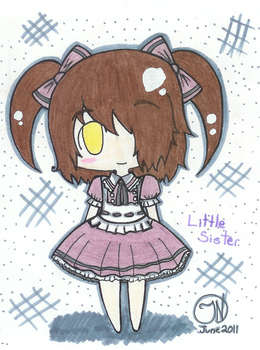 Bioshock Little Sister Chibi by Imimi-Ai