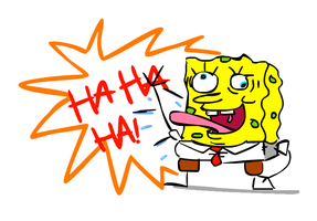 Spongebob Mentalpants by kanazuchi92